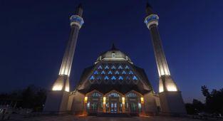 57. Alay Şehitleri Camii İbadete açıldı