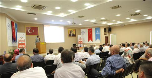 2016 Vekaletle Kurban Programı Bursa Bölge toplantısı düzenlendi.