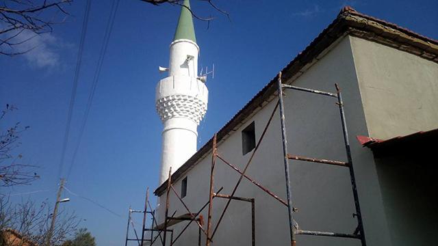 Gelibolu Adilhan Camii'nde Onarım Çalışması