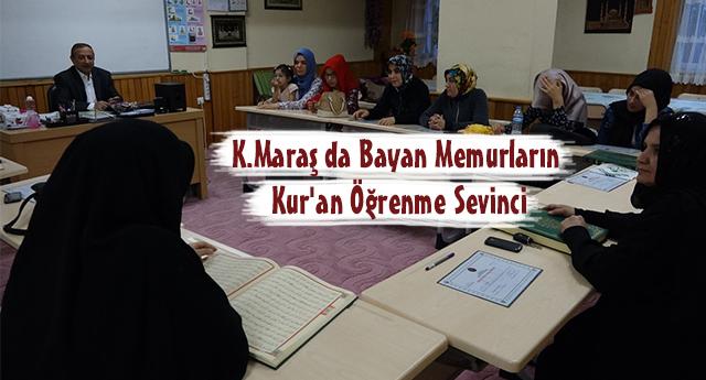 Bayan Memurların Kur'an Öğrenme Sevinci