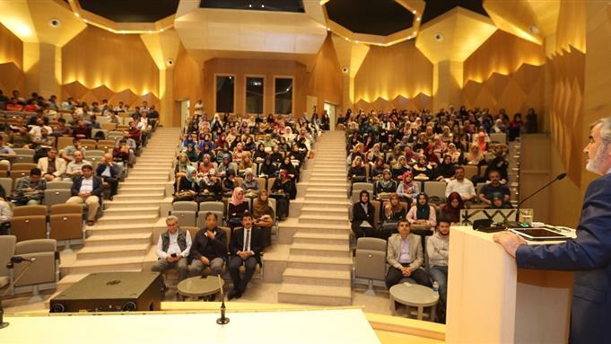 İstanbul Müftüsü Yılmaz'dan 'Medeniyet Değerlerimiz' Konferansı