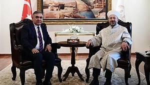 Diyanet İşleri Başkanı Erbaş, bugün Özbekistan'a gitti…