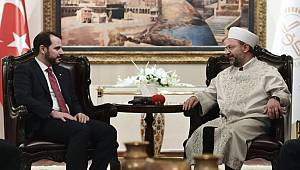 Enerji ve Tabii Kaynaklar Bakanı'ndan Diyanet'e ziyaret