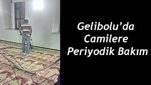 Gelibolu'da Camilere Periyodik Bakım