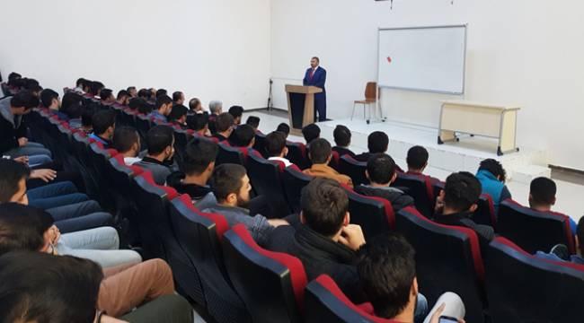Iğdır da İlahiyat Hazırlık Sınıfı Öğrencileri İle Buluşma