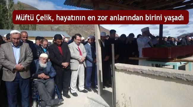 Rize Güneysu İlçesi Müftüsü Abdulkerim Çelik'in annesi vefat etti.
