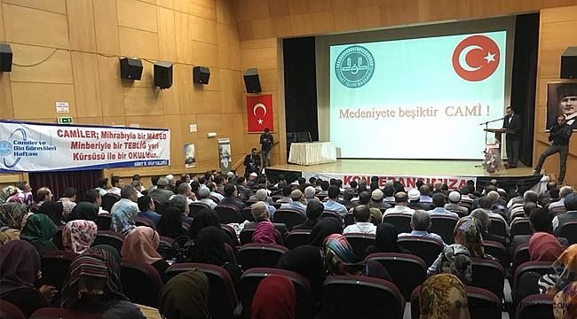 Siirt de Cami Şehir ve Medeniyet Konferansı