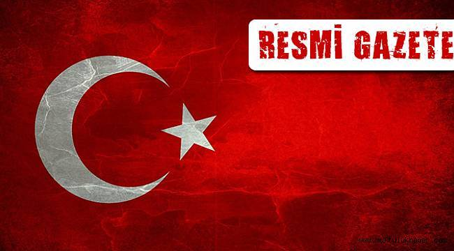 17 Kasım 2017 Tarihli ve 30243 Sayılı Resmî Gazete