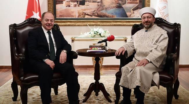 Başbakan Yardımcısı Akdağ'dan Diyanet'e ziyaret