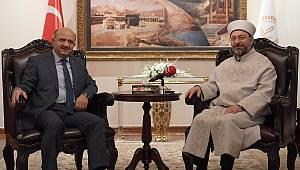 Başbakan Yardımcısı Işık'tan Diyanet'e ziyaret