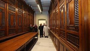 Başkan Erbaş Bab-ı Meşihat Arşivi'ni gezdi.