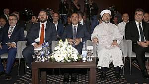 """Başkan Erbaş """"Uluslararası Yüksek Din Öğretimi Kongresi""""ne katıldı"""