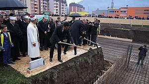 Bosna Ahi Evran-ı Veli Kırşehir Camisi'nin temeli atıldı