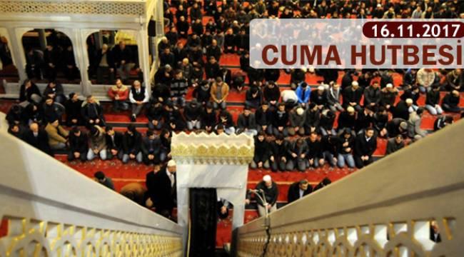 Haftanın Hutbesi:Allah Katında Din İslamdır