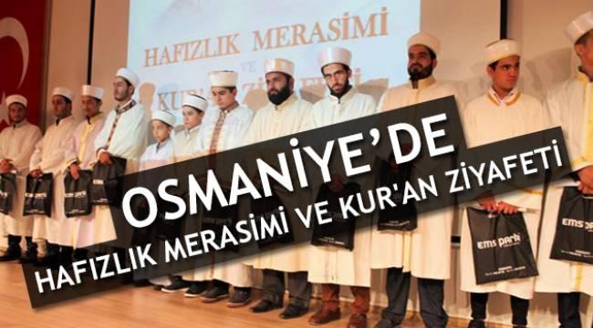 Osmaniye de Hafızlık Merasimi