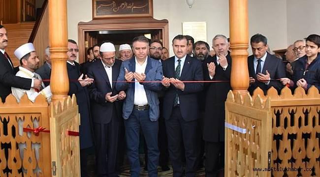 """""""Şeyh İzzettin Mescidi"""" dualarla ibadete açıldı"""