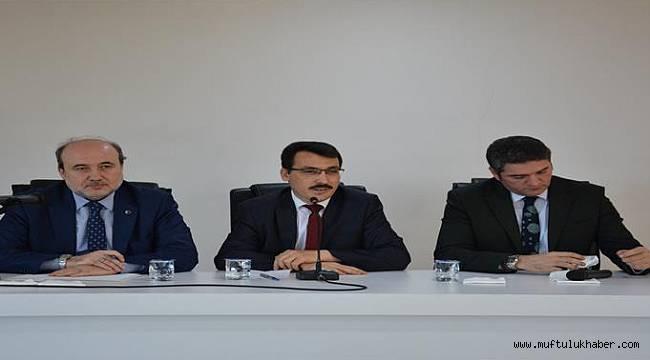 Sinop da Daire Başkanları Din Görevlileri İle Buluştu
