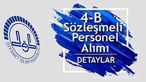 4-B Sözleşmeli Personel Alımı