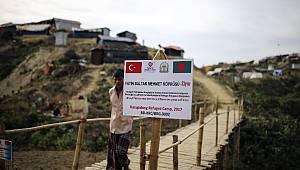 Arakan kamplarında Türkiye sevgisi