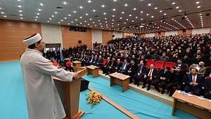 Başkan Erbaş, Muş'ta din görevlileriyle bir araya geldi