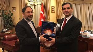 Başkan Erbaş'tan Bakü'de ziyaretler