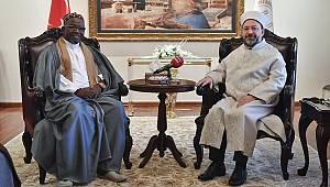 Gine Bissau'lu Müslümanlardan Diyanet'e ziyaret