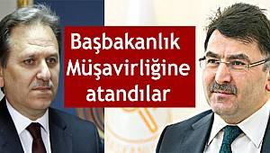 Yaşar YİĞİT ve YükselSALMAN Başbakanlık Müşavirliğine atandı