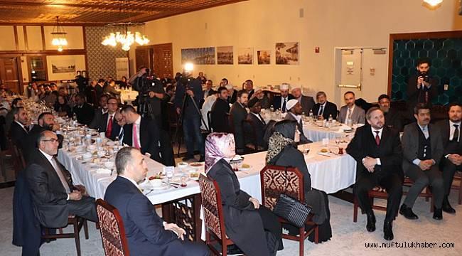 Başkan Erbaş, Müslüman kanaat önderleri ile bir araya geldi