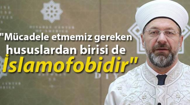Başkanı Erbaş ABD'de Türk gazetecilerle ile bir araya geldi.