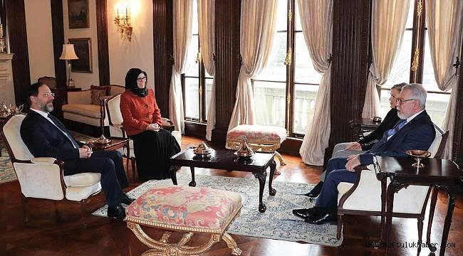 Diyanet İşleri Başkanı Erbaş, ABD'de
