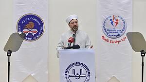 Başkan Ali Erbaş, Üniversite öğrencilerine konferans verdi