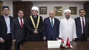 Diyanet İşleri Başkanı Erbaş, Belarus'ta