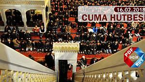 Haftanın Hutbesi;Cihad Allah Yolunda Canla ve Malla Mücadele