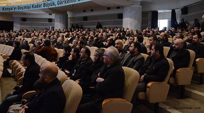 """Konya da""""Terör Örgütlerinin Din İstismarı"""" Konulu Panel"""