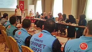 Türkiye Diyanet Vakfı'nın Gönüllü İnsani Yardım Ekipleri Sahada