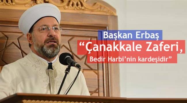 Başkan ERBAŞ Çanakkale de