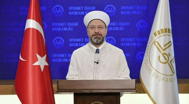 Başkan Erbaş'tan Regâib Kandili mesajı
