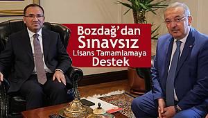 Genel Başkan BAYRAKTUTAR dan Bakan BOZDAĞ'a Ziyaret