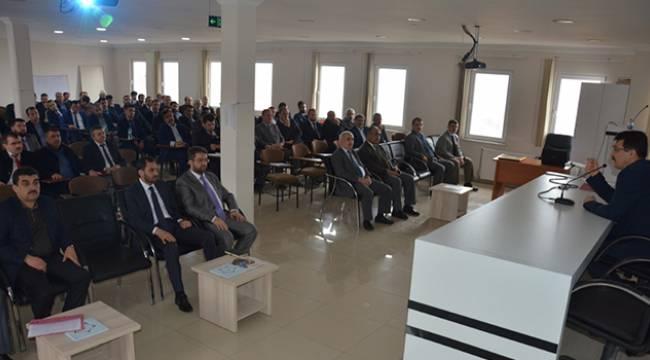 Sinop da İnancın Zaferi Çanakkale konulu konferans