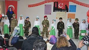 Sinop da Miniklerden Duygulandıran Programı