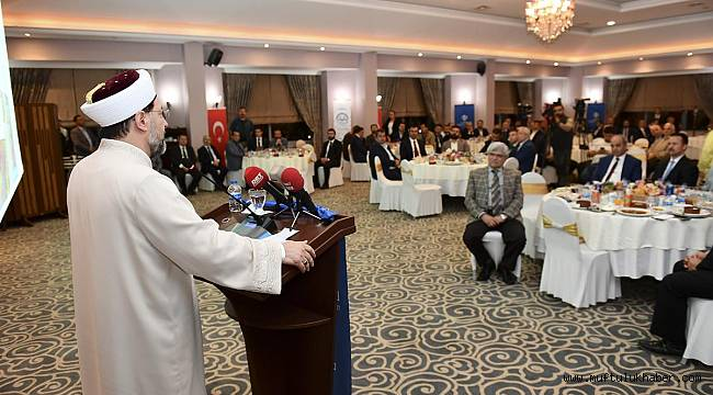 Başkan Erbaş Denizli'de STK temsilcileri ile bir araya geldi