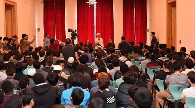 Başkan Erbaş, Uluslararası Öğrencileriyle buluştu