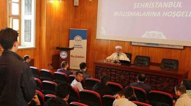 Müftü YILMAZ,Uluslararası İmam Hatip Öğrencileri ile buluştu.