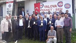 Yalova Diyanet-Sen den Emekli Din Görevlilerine Vefa
