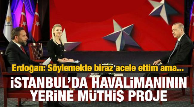 Cumhurbaşkanı Recep Tayyip Erdoğan dan Açıklamalar