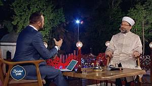 Diyanet Tv'nin ilk konuğu Ali ERBAŞ oldu