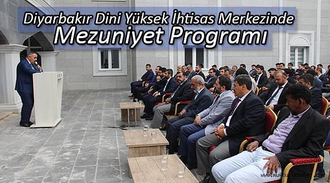 Dini Yüksek İhtisas Merkezinde Mezuniyet Programı