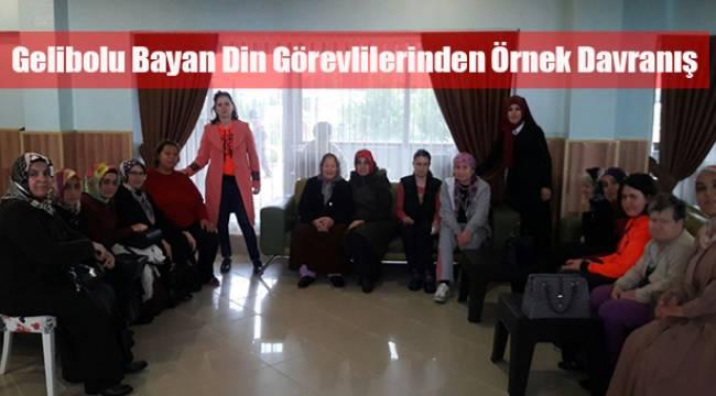 Gelibolu Bayan Din Görevlilerinden Örnek Davranış