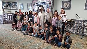 Öğrencilerden Ditib Lohr Ulu Camiye Ziyaret