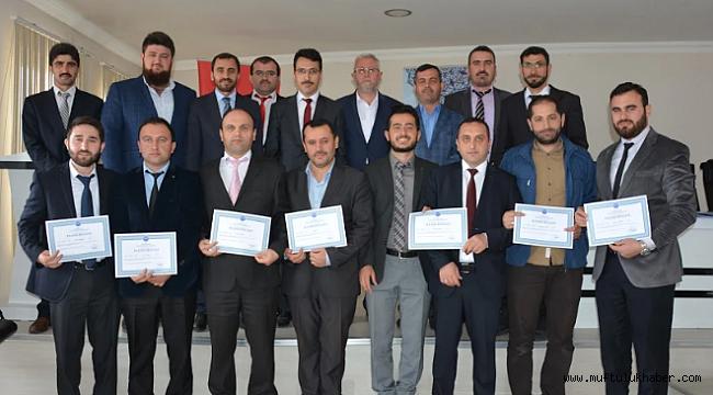 Sinop da Hizmet İçi Eğitimi Sona Erdi